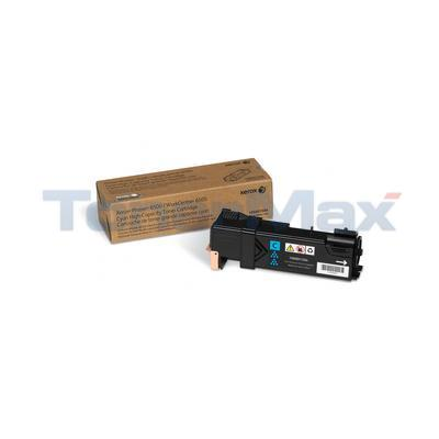 XEROX PHASER 6500 TONER CARTRIDGE CYAN HY